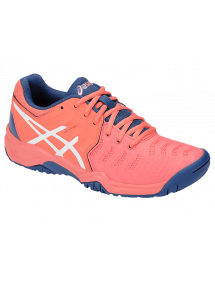 Кроссовки детские Asics Gel-Resolution 7 GS (Papaya/White)