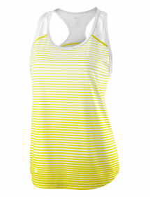 Топ Wilson Team Striped Tank W (Yellow/White)