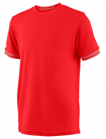 Футболка Wilson Team Solid Crew B (Red)