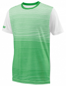 Футболка Wilson Team Striped Crew B (Toucan/White)