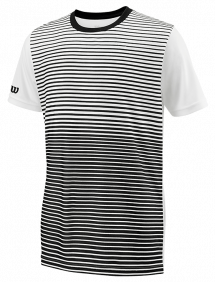 Футболка Wilson Team Striped Crew B (Black/White)