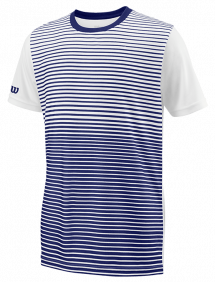 Футболка Wilson Team Striped Crew B (Blue/White)