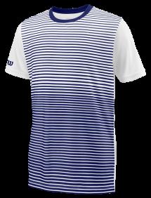 Футболка Wilson Team Striped Crew B (Blue/White)