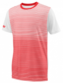 Футболка Wilson Team Striped Crew B (Red/White)