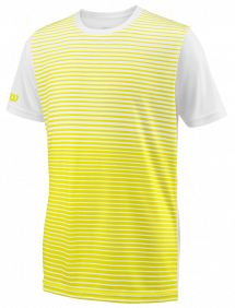 Футболка Wilson Team Striped Crew B (Yellow/White)