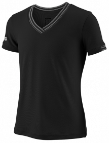 Футболка Wilson Team V-Neck G (Black)