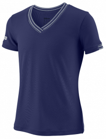 Футболка Wilson Team V-Neck G (Blue)