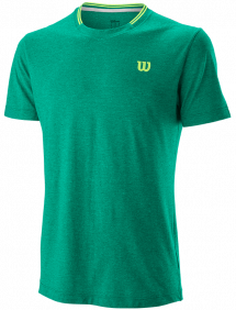 Футболка Wilson Competition Flecked Crew M (Green)