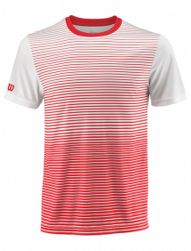 Футболка Wilson Team Striped Crew M (Red/White)