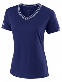 Футболка Wilson Team V-Neck W (Blue)