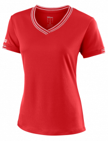 Футболка Wilson Team V-Neck W (Red)