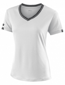 Футболка Wilson Team V-Neck W (White)