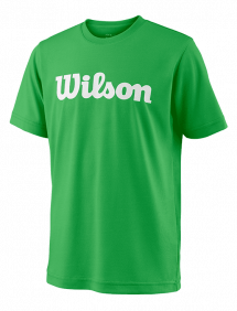 Футболка Wilson Team Script Tech Y (Toucan/White)