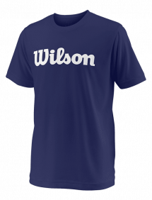 Футболка Wilson Team Script Tech Y (Blue/White)