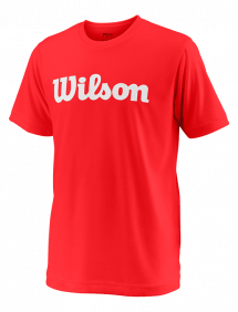 Футболка Wilson Team Script Tech Y (Red/White)