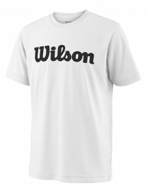 Футболка Wilson Team Script Tech Y (White/Black)