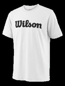 Футболка Wilson Team Script Tech Y (White/Black)