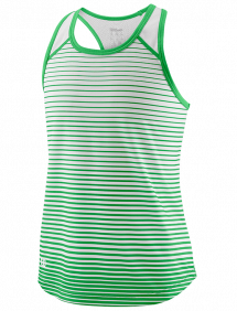 Топ Wilson Team Striped Tank G (Toucan/White)