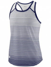 Топ Wilson Team Striped Tank G (Blue/White)