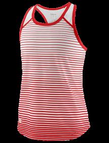 Топ Wilson Team Striped Tank G (Red/White)