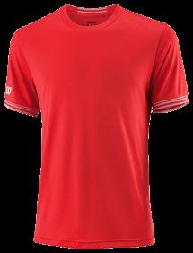Футболка Wilson Team Solid Crew M (Red/White)