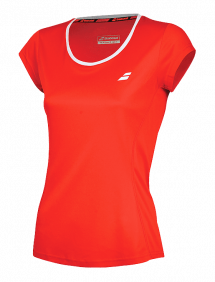 Футболка Babolat Core Flag Club W (Красный 5004)