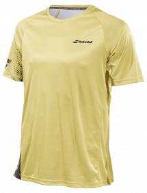 Футболка Babolat Perf Crew Neck M (Желтый/Черный 7007)