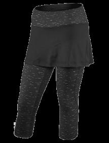 Капри с юбкой Babolat Core W (Синий/Черный 3004)