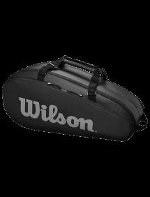 Сумка Wilson Tour 2 Comp Small 6R (Черный/Серый)