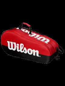 Сумка Wilson Team 2 Comp 6R (Черный/Красный)