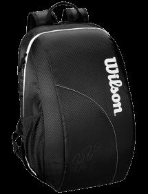 Рюкзак Wilson Fed Team Backpack (Черный/Белый)