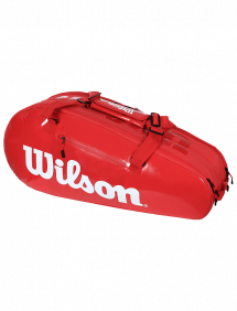 Сумка Wilson Super Tour 2 Comp Small 6R (Красный)