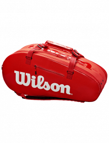 Сумка Wilson Super Tour 2 Comp Large 9R (Красный)