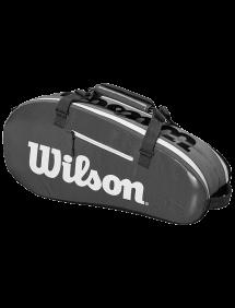 Сумка Wilson Super Tour 2 Comp Small 6R (Черный/Серый)