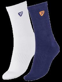 Носки Tecnifibre Men Socks 2pair (Белый + Синий)