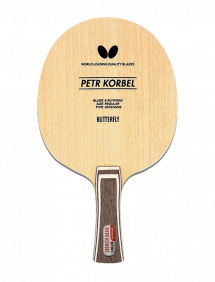 Ракетка для настольного тенниса сборная Butterfly Petr Korbel, накладки Tenergy 05 FX
