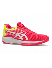 Кроссовки женские Asics Solution Speed FF (Laser Pink/White)