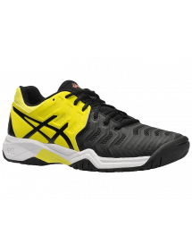 Кроссовки детские Asics Gel-Resolution 7 GS (Black/Sour Yuzu)