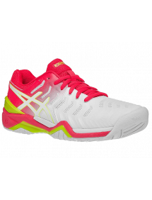 Кроссовки детские Asics Gel-Resolution 7 GS (White/Laser Pink)