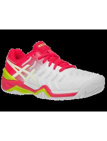 Кроссовки детские Asics Gel-Resolution 7 GS (White/Laser Pink)