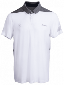 Поло Babolat Perf Wimbledon M (Белый/Серый 225)