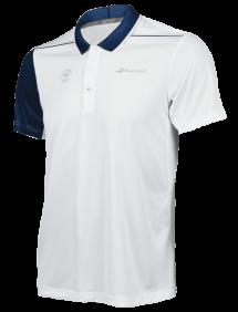 Поло Babolat Perf Wimbledon M (Белый/Синий 1005)