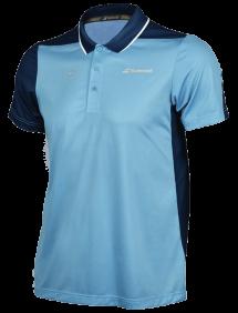 Поло Babolat Perf Wimbledon M (Серо-голубой/Синий 4017)