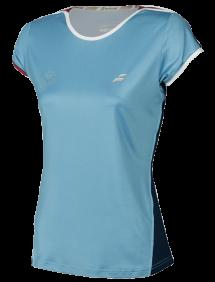 Футболка Babolat Perf Cap Wimbledon W (Серо-голубой/Синий 4017)