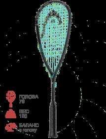 Ракетка для сквоша Head Graphene Touch Speed 120 slimbody