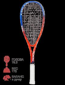 Ракетка для сквоша Head Xenon Ti. Junior (Черный/Красный)