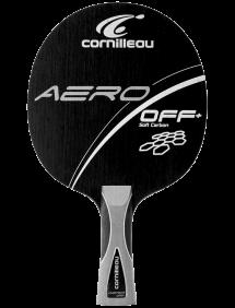 Ракетка для настольного тенниса сборная Cornilleau Aero OFF+ Soft Carbon, накладки Target Pro GT H47