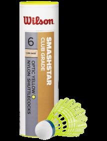 Воланы Wilson Smashstar (Желтый) 6pcs