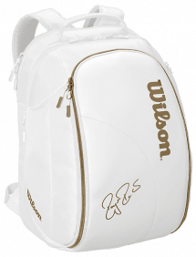Рюкзак Wilson Federer DNA Backpack (Белый/Золотой)