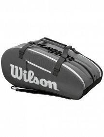 Сумка Wilson Super Tour 3 Comp 15R (Черный/Серый)